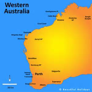 map western australia west australia map