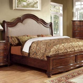 Cherry King Size Bed Frame 247shopathome Bellavista Traditional Style Brown Cherry Finish Eastern King Size Bed