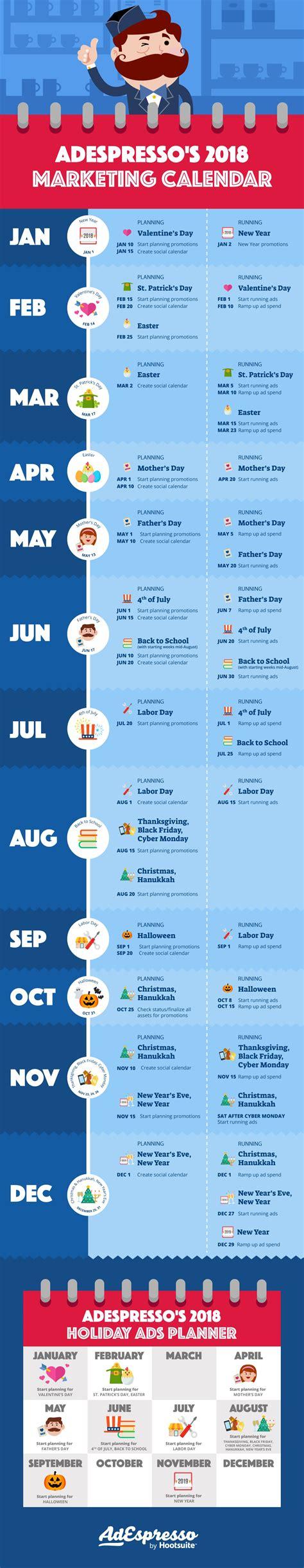 how to make a marketing calendar how to create a marketing calendar for 2018 take it