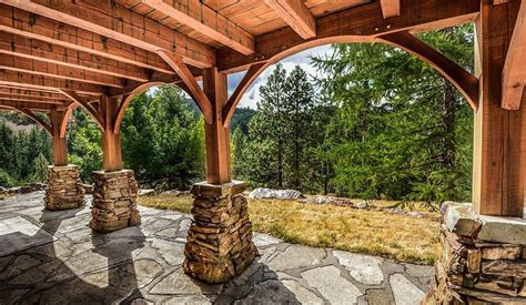 creative patio ideas for your mountain retreat