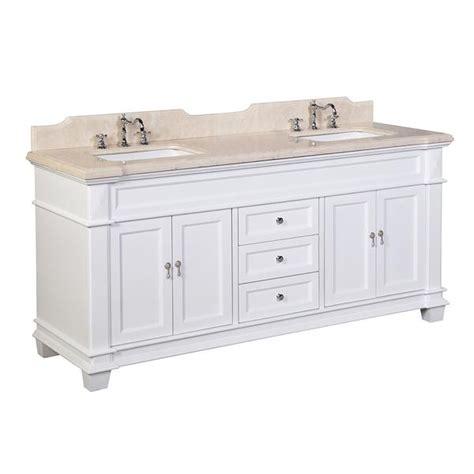 elizabeth 72 inch bathroom vanity elizabeth 72 inch crema marfil white kitchenbathcollection