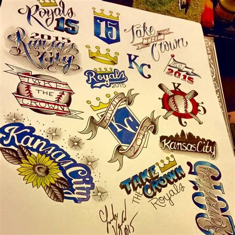 kansas city royals tattoo 10 best images about ideas on logos