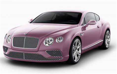 bentley car pink ferrari is definitely not in the pink bans color from its