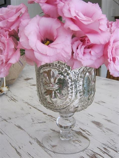 Pink Mercury Glass Vase by Mercury Glass Vase Pink Is Color