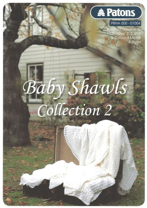 patons baby knitting books patons baby shawls collection 2 knitting book 1004