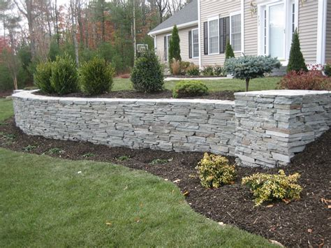 front yard retaining wall front yard retaining wall