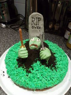 zombie themed birthday cakes 1000 images about zombie birthday party on pinterest