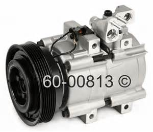 2004 Hyundai Santa Fe Ac Compressor 2004 Hyundai Santa Fe A C Compressor 2 7l Engine 60 00813 Na