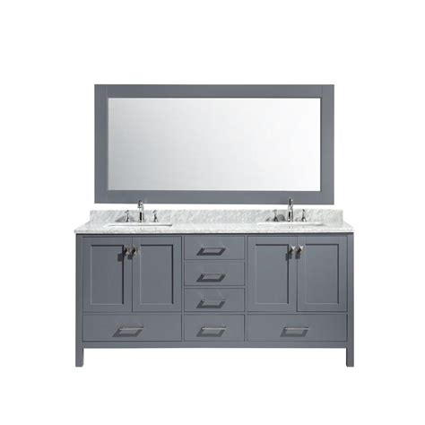 design element london 30 in w x 22 in d makeup vanity in design element london 72 in w x 22 in d x 36 in h