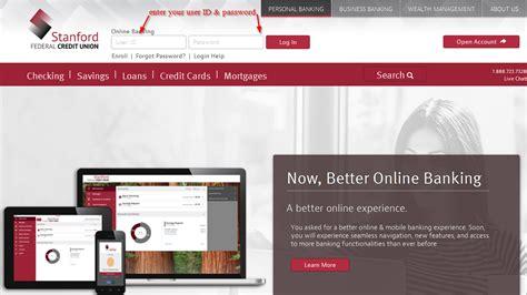 reset online banking password santander stanford federal credit union online banking login