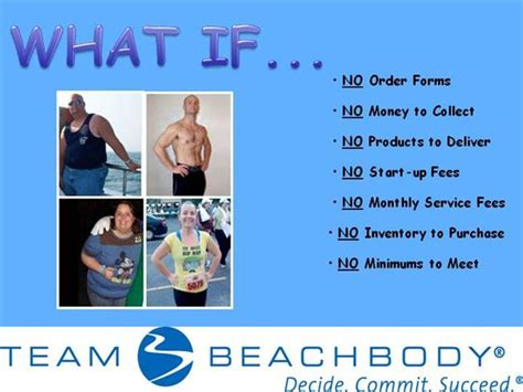 team beachbody business card template team beachbody fundraiser for non profits authorstream