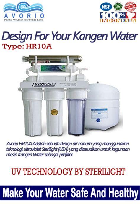 Mesin Kangen Miracle Water mesin prefilter untuk kangen water