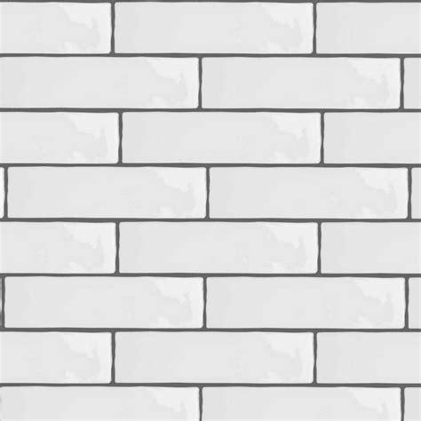 1 white ceramic tiles black gloss brick tiles kezcreative