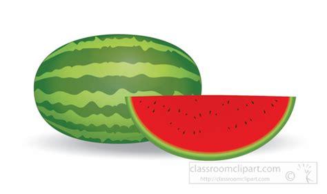 Ittaherl Clip 1 Pcs Watermelon fruits clipart whole and half watermelon fruit clipart 1161 classroom clipart