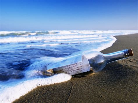 message in a bottle northmantrader