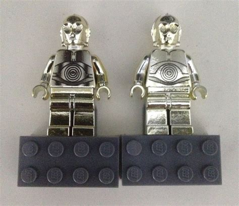 Lego 20391 Wars Keychain C 3po gold chrome limited edition c 3po software free