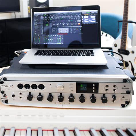 orion studio software control panel  antelope audio