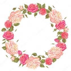 imagenes de flores para invitaciones marco con rosas vintage decorativos flores retros imagen