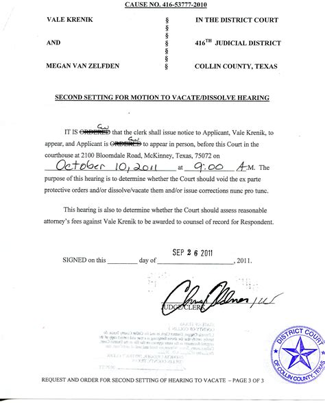 Court Records Notice Updated Plano Tx Judge Chris Oldner Going To Great