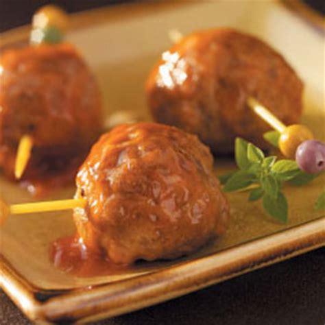 appetizer meatballs pork sausage ground beef recipe myrecipes