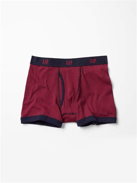 Brief Boxer Gap Size M gap thin stripe boxer briefs in for lyst