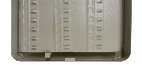 Key Organizer Cabinet by Secure Steel Key Storage Cabinet 93 Gray Box Garage
