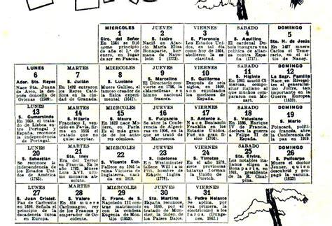 Calendario De 1936 Calendario 1936