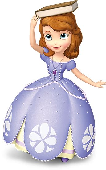 sophi the image sofia balancing a book png disney wiki wikia