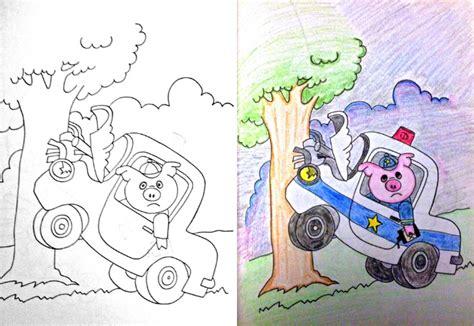 L'art de détourner un cahier de coloriages pour enfants en