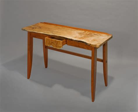 crafted slt live edge desk by hugh montgomery