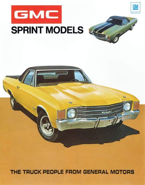 Size Of A Two Car Garage 1971 Gmc Sprint Sp 454 Blog Mcg Social Myclassicgarage