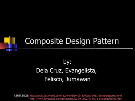 composite design pattern in software engineering composite design pattern