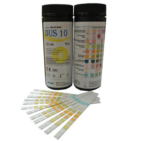 100 x doctor gp 10 parameter urinalysis multi test strips