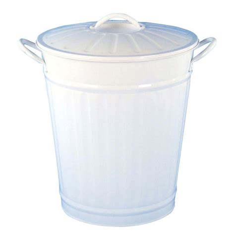 can i throw light bulbs in the trash bel air lighting 3 75 gal white round retro large trash
