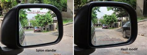 Blind Spot Blindspot Mirror Kaca Cembung Tambahan Spion diy meminimalkan blindspot pada spion agya ayla dengan