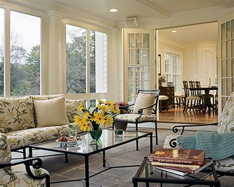 Step Into The Sunroom on the drawing board screened porches