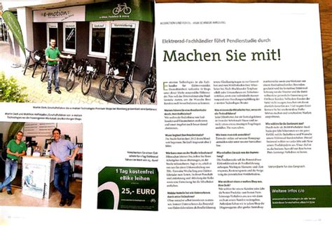 E Bike Magazin Deutschland by Deutschlands Gr 246 223 Tes Ebike Fachmagazin Bringt Zweiseitigen