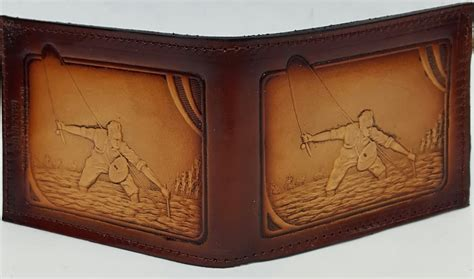 Handmade Leather Wallets Made In Usa - fishing bifold leather wallet bifold leather wallets