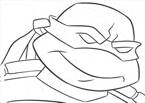 ninja turtles valentines coloring pages ninja turtle s face coloring page free printable