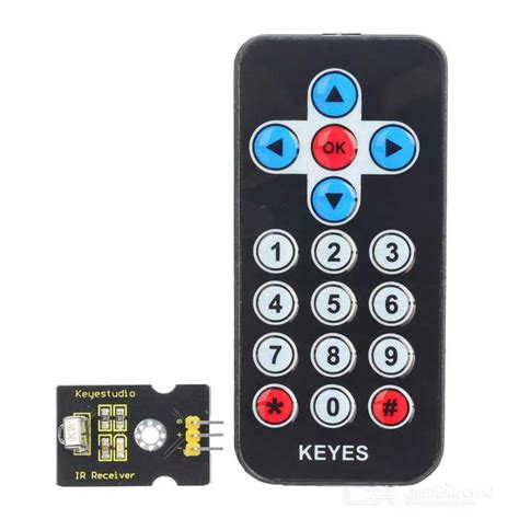 Infrared Ir Wireless Remote Receiver Module For Arduino Hq keyestudio infrared ir wireless remote module kit