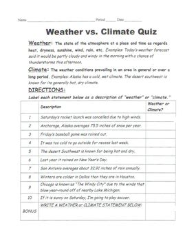 Weather Vs Climate Worksheet by Climate Vs Weather Worksheet Photos Jplew