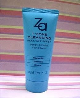 Soap And T Zone Detox by Za T Zone Cleansing Peel Mask Jeanius