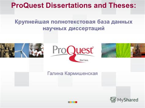 proquest dissertations and theses quot proquest