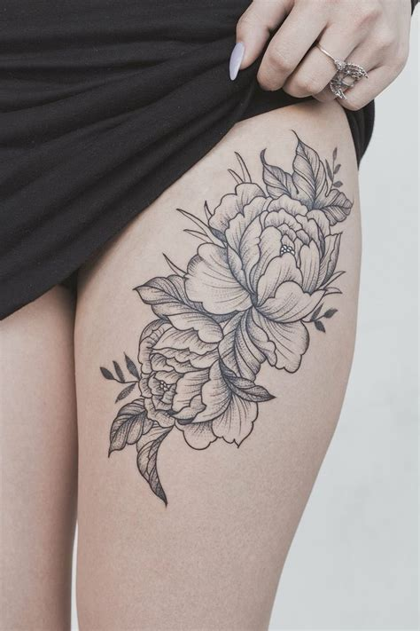 tattoo aftercare on thigh 25 best peonies tattoo ideas on pinterest flower tattoo