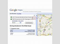 How to Get Driving Directions with Google Maps Mapquest Driving Distances Google