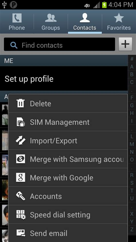 menu android android ics options menu with images stack overflow