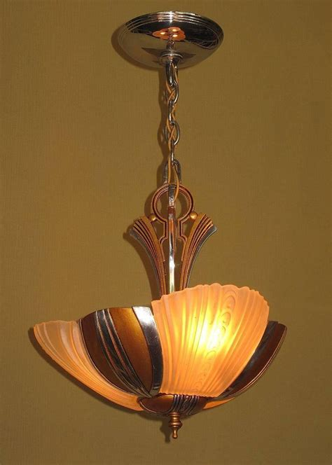 1930s Light Fixtures Mid Century Three Light Ceiling Fixture Circa 1930s For Sale At 1stdibs
