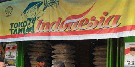 Toko Indonesia 60 toko tani beroperasi di sumatera utara waspada