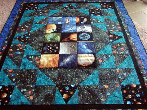 Patchwork System - space quilt search quilts kid