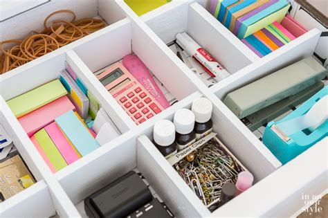 Desk Drawer Organizer Ideas Organizer To Make For A Desk Drawer 5 In My Own Style